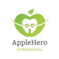 蘋果的英雄Logo