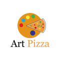 藝術披薩Logo