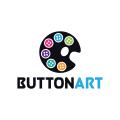 按鈕藝術Logo