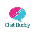 聊天的朋友Logo