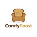 舒適的麵包Logo