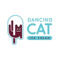跳舞的貓Logo