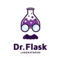 Dr.Flask Laboratories  logo