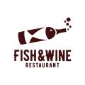 Fish and Wine  logo