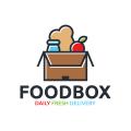 食品盒Logo