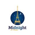 Midnight In Paris  logo