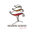 Season Leaves  logo