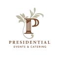 字母P業務Logo