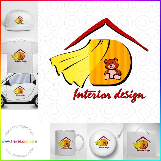 窗簾logo設計 - ID:17491