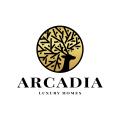 阿卡迪亞Logo