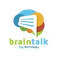 談心理治療腦Logo