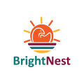 Bright Nest  logo