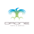 Drone Parts and Service  logo