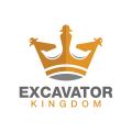 挖掘機的王國Logo