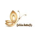 Goiden butterfly  logo