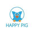 Happy Pig  logo