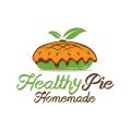 健康餅自製Logo