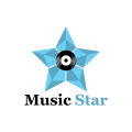 音樂明星Logo