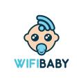 無線嬰兒Logo