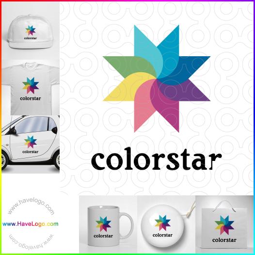 色彩艷麗logo設計 - ID:17476
