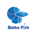 Betta Fish  logo