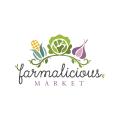 Farmalicious Market  logo
