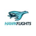 鷹的飛行Logo