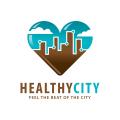 健康城市Logo