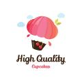 高質量的蛋糕Logo