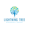 Lightning Tree  logo