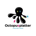 Octopus Splatter  logo