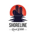 海岸線的房地產Logo
