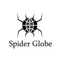 Spider Globe  logo