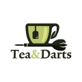 Tea and Darts  logo