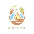 木的食物Logo