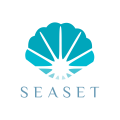 beach gift retail logo