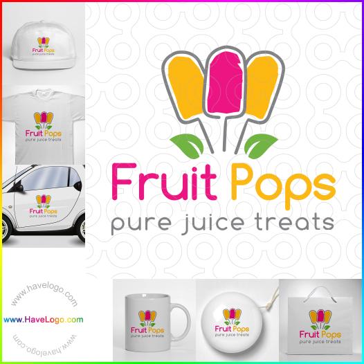 fresh fruit logo - ID:35509