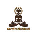 meditation god  logo