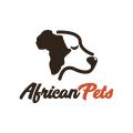 非洲的寵物Logo