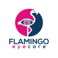 Flamingo Eye Care  logo