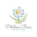 Petaline Bear  logo