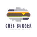 Chef Burger  logo