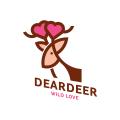 親愛的鹿Logo