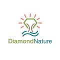 鑽石的性質Logo