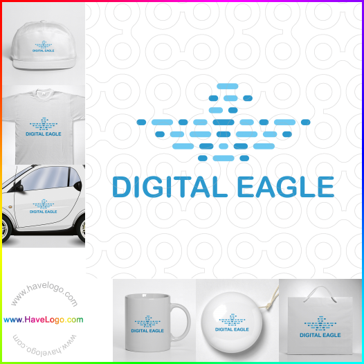 Digital eagle  logo - ID:65474