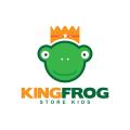 國王的青蛙Logo