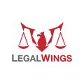 法律的翅膀Logo