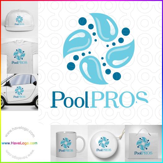 遊泳池logo - ID:31303