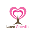 love growth  logo