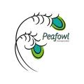 peafowl  logo